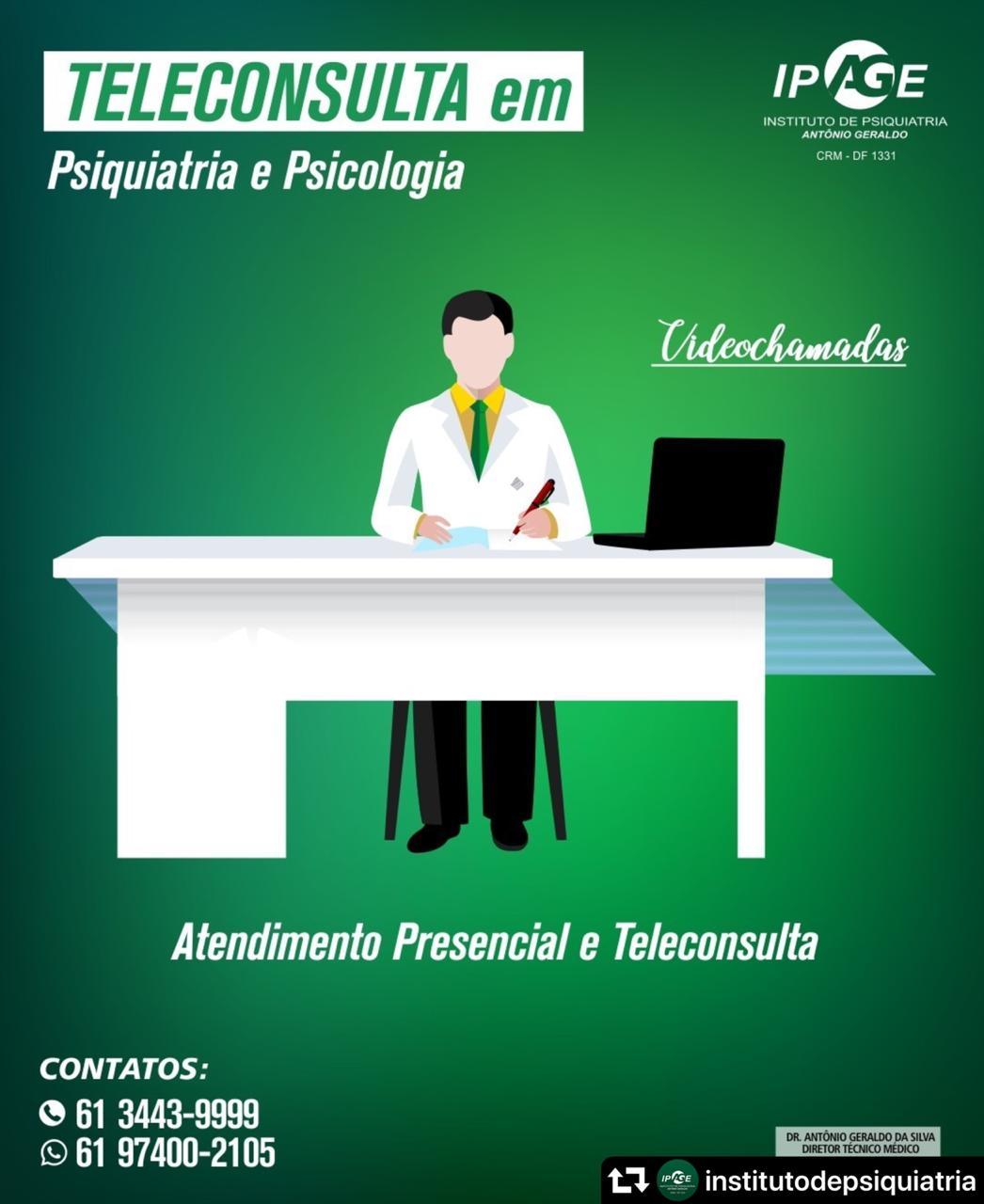 teleconsulta ipage psiquiatra brasilia