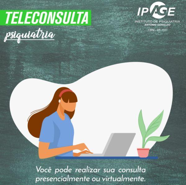 psiquiatra brasilia - teleconsulta ipage